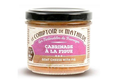 Le Comptoir de Mathilde Cabrinade à la Figue 90g 12st