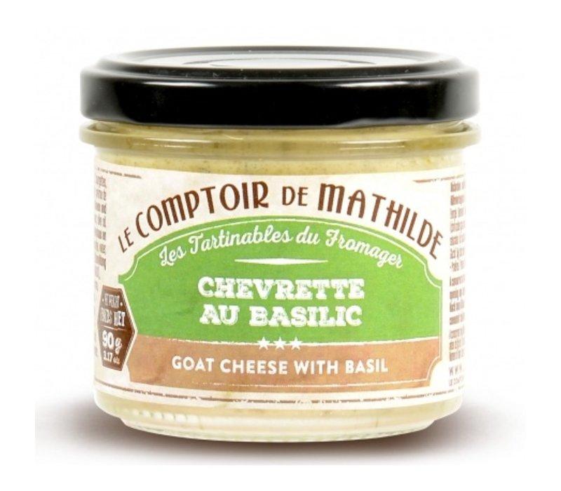 Chevrette au Basilic (Mousse de Chèvre) 90g 12st