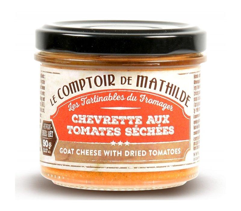 Chevrette Tomates Séchées (Mousse de Chèvre) 90g 12st