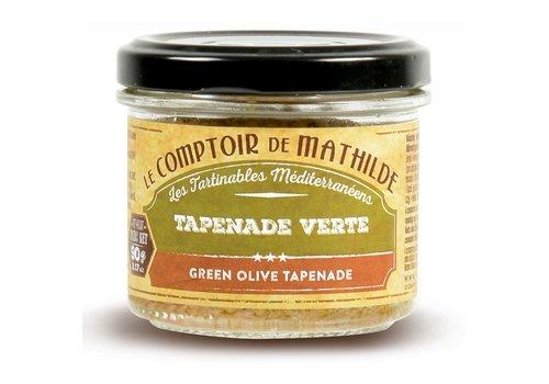 Le Comptoir de Mathilde Tapenade Verte 90g 12st