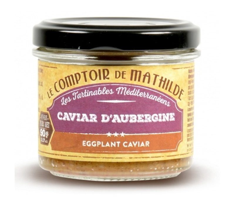 Caviar Aubergine 90g 12st