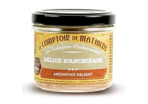 Le Comptoir de Mathilde Délice d'Anchoîade 90g 12st