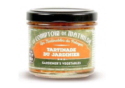 Le Comptoir de Mathilde Tartinade du Jardinier 90g 12st