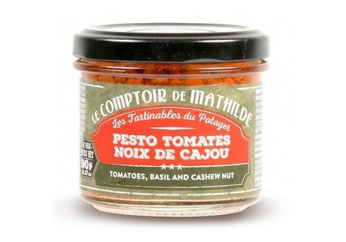 Le Comptoir de Mathilde Pesto tomate noix de cajou 90g 12st