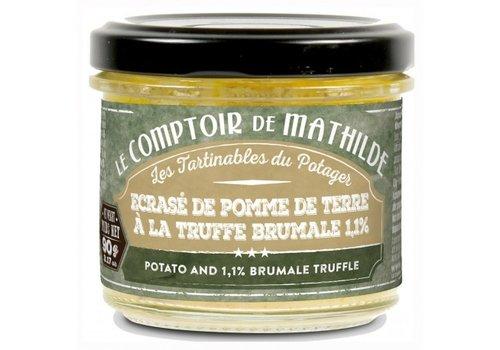 Le Comptoir de Mathilde Ecrasé de pomme de terre à la truffe 90g 12st