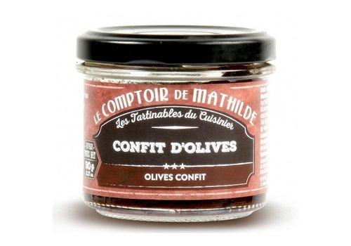 Le Comptoir de Mathilde Confit d'olives 90g 12st