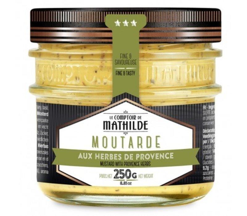 Moutarde aux Herbes de Provence 250g 12st