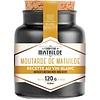 Le Comptoir de Mathilde Moutarde de mathilde recette au vin blanc 120g 12st
