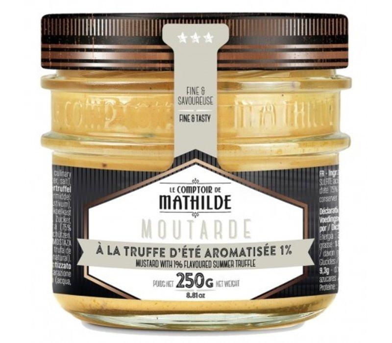 Moutarde à la truffe d'été aromatisée 250g 12st