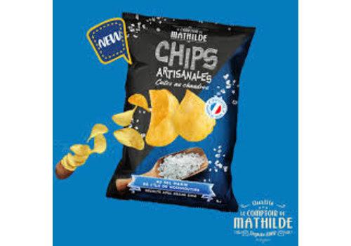 Le Comptoir de Mathilde Chips nature - 125g 20st