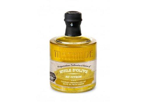 Le Comptoir de Mathilde Préparation Culinaire à Base d'Huile d'Olive au citron Empilables 25cl 6st