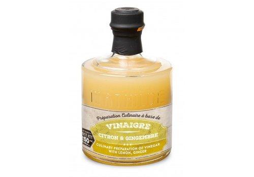 Le Comptoir de Mathilde Vinaigre Pulpe de citron et gingembre Empilables 25cl 6st