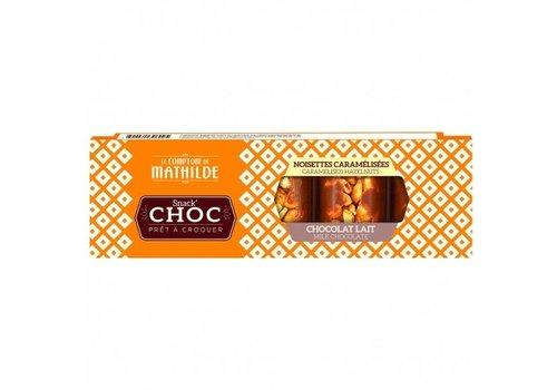 Le Comptoir de Mathilde Snack Choc Lait noisette caramelisee 40g 16st