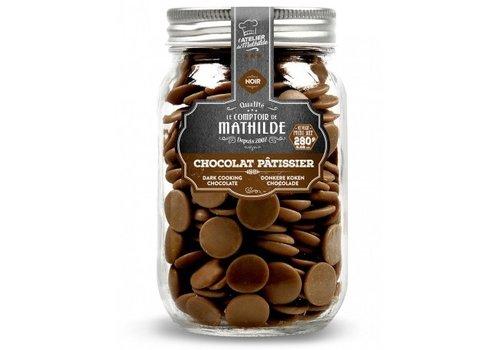 Le Comptoir de Mathilde Chocolat noir patissier 280g 6st