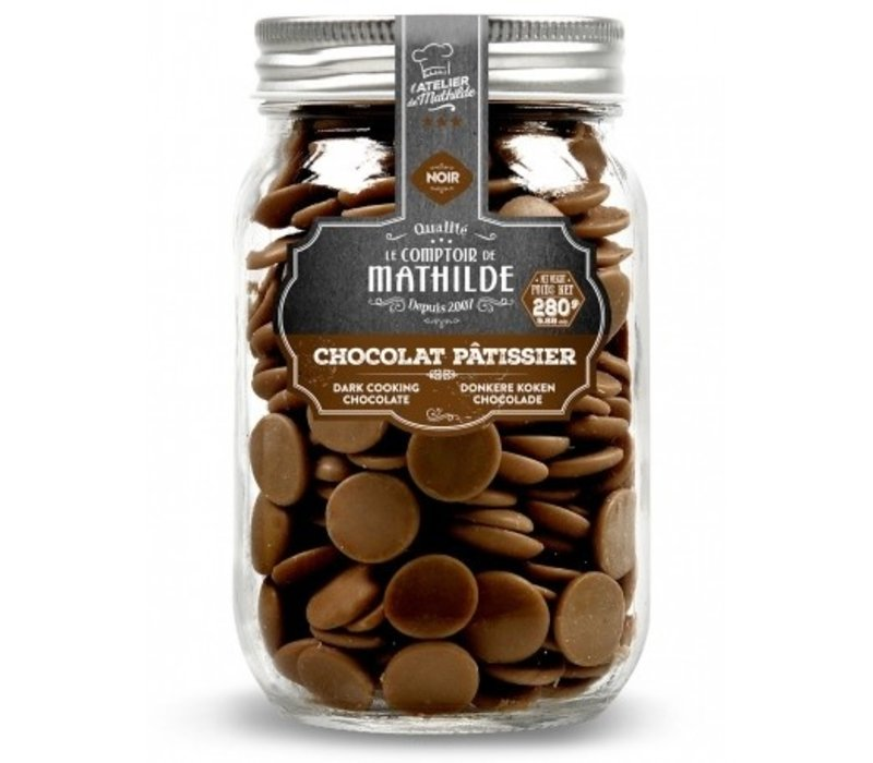 Chocolat noir patissier 280g 6st