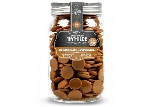 Le Comptoir de Mathilde Chocolat lait patissier 280g 6st