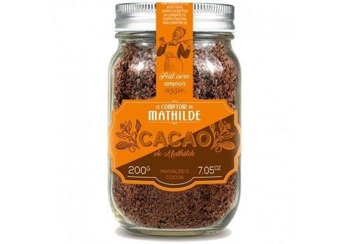 Le Comptoir de Mathilde Cacao de mathilde 200g 6st