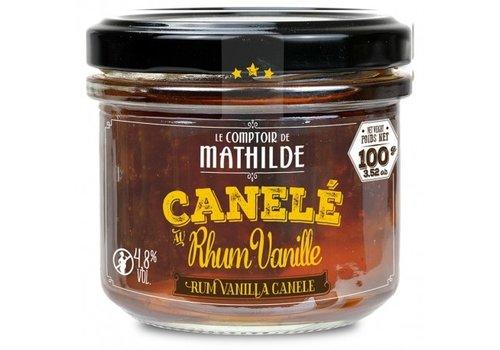 Le Comptoir de Mathilde Canele 4,8% rhum vanille x 4 - 100g 12st
