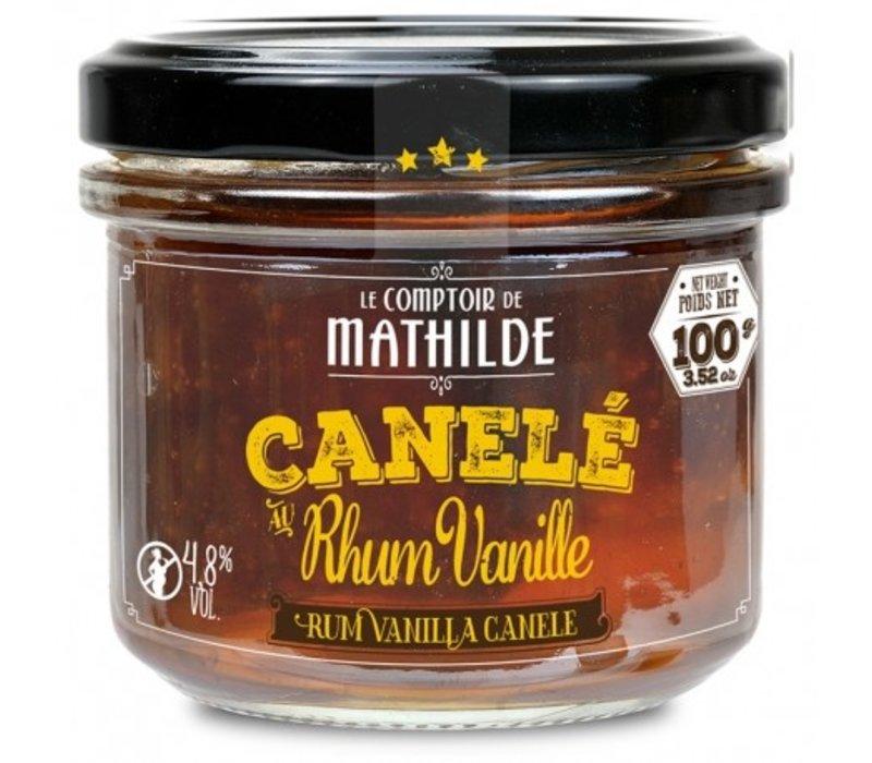 Canele 4,8% rhum vanille x 4 - 100g 12st