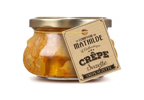 Le Comptoir de Mathilde Crêpe 4,8% suzette au Rhum x 8 - 270g 12st