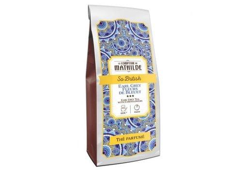 Le Comptoir de Mathilde Thés aromatisés So British 100g 12st