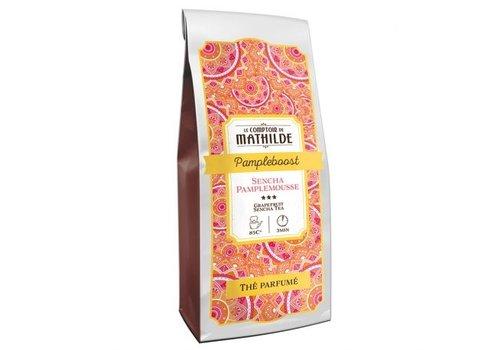 Le Comptoir de Mathilde Thés aromatisés Pampleboost 100g 12st