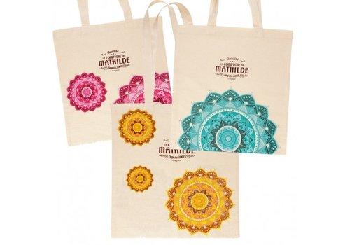 Le Comptoir de Mathilde Tote bag Mandala 3 coloris assortis 60st
