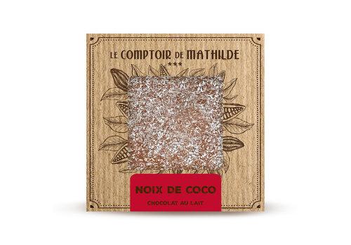 Le Comptoir de Mathilde Tablettes de chocolats Coco caramélisé 80g 12st