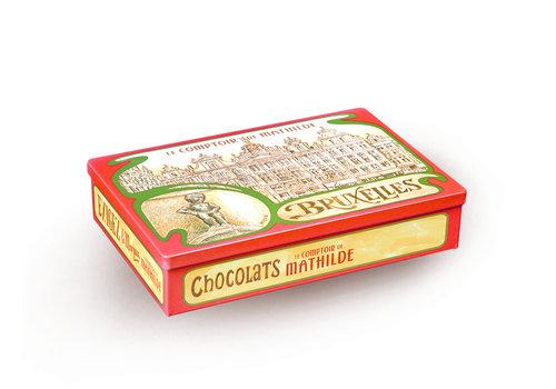 Le Comptoir de Mathilde Boites Cadeaux Métals Vides Bruxelles 24st