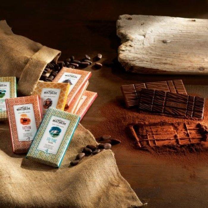 Chocolade tabletten Origines