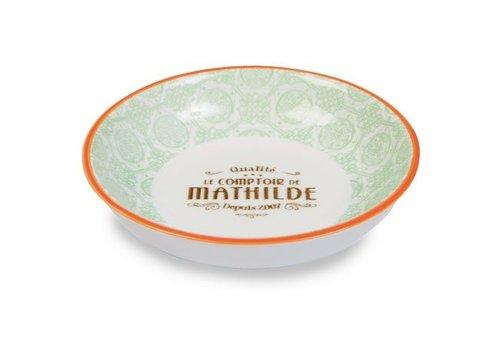 Le Comptoir de Mathilde Coupelle Porcelaine (4 coloris assortis) 6st