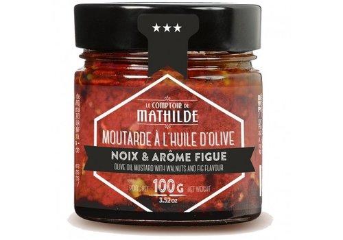 Le Comptoir de Mathilde Moutarde Figue & Noix 100g 12st