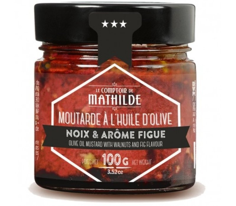 Moutarde Figue & Noix 100g 12st