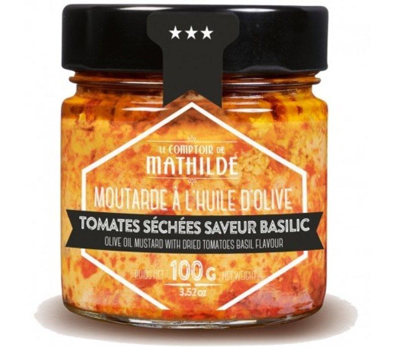 Moutarde Tomates séchées saveur basilic 100g 12st