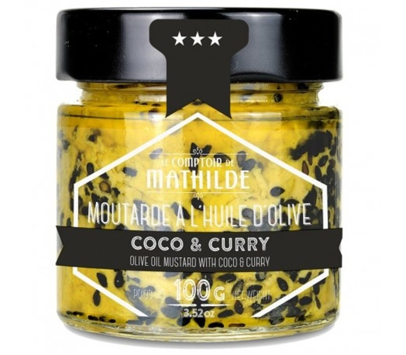 Moutarde Coco curry 100g 12st