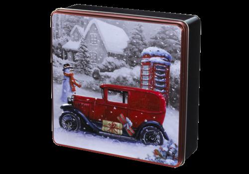 Grandma Wild's Embossed Vintage Van & Telephonebox Tin 400g 6st