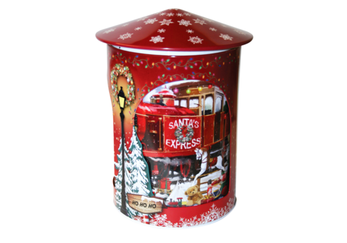 Grandma's Wild Red Rotating Musical Tin 200g 6st