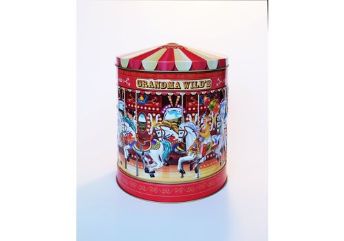Grandma Wild's Nostalgic Musicial Carousel Tin 300g 6st