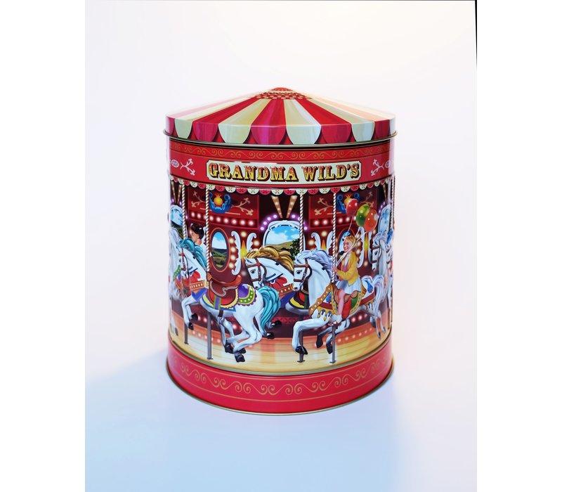 Nostalgic Musicial Carousel Tin 300g 6st