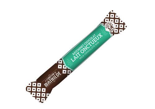 Le Comptoir de Mathilde Batonnets chocolat Lait onctueux 14g 40st