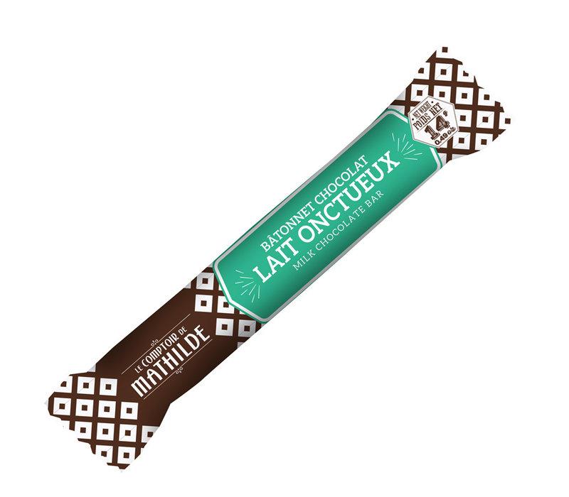 Batonnets chocolat Lait onctueux 14g 40st