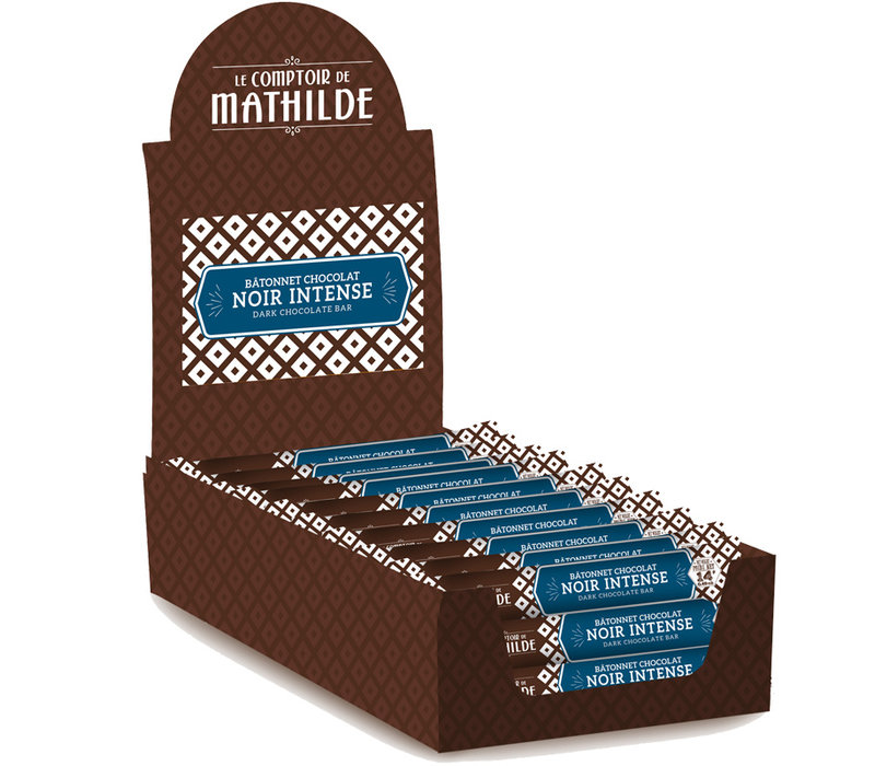 Batonnets chocolat Noir 14g 40st
