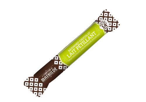 Le Comptoir de Mathilde Batonnets chocolat Lait petillant 14g 40st