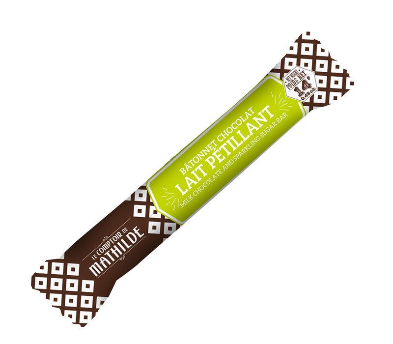 Batonnets chocolat Lait petillant 14g 40st