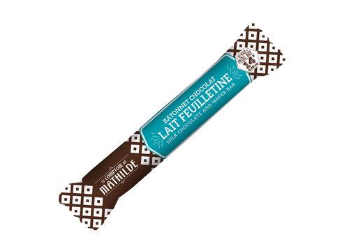 Le Comptoir de Mathilde Batonnets chocolat Lait feuilletine 14g 40st