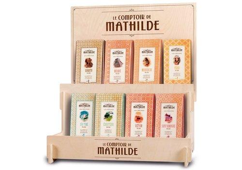 Le Comptoir de Mathilde Présentoir 8 tablettes Origines