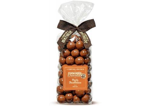 Le Comptoir de Mathilde Perle Petillante Chocolat au Lait 200g 12st