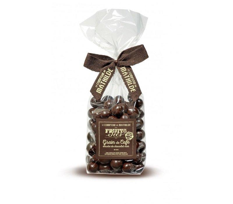 Grain de Café Enrobé de Chocolat Noir 200g 12st