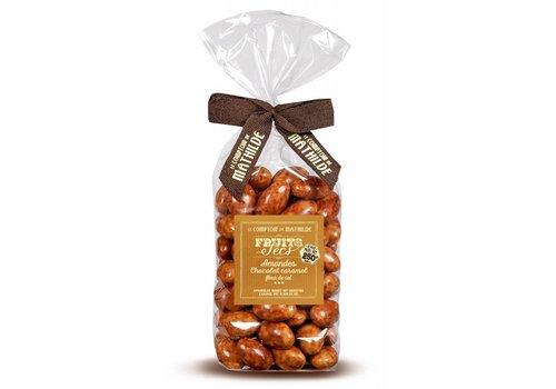 Le Comptoir de Mathilde Amandes chocolat caramel fds 250g 12st