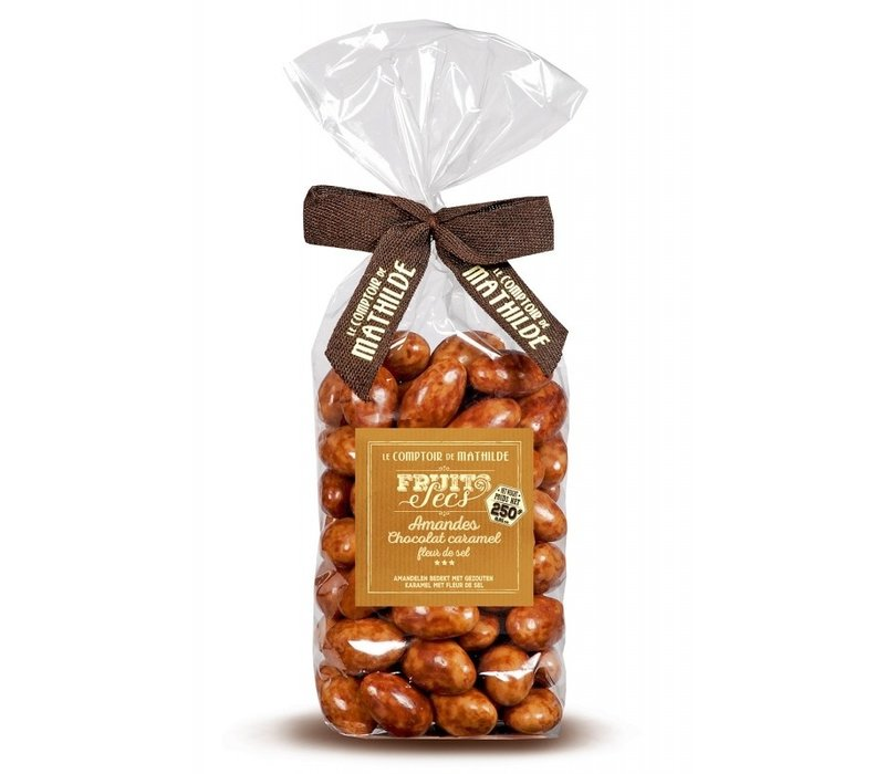 Amandes chocolat caramel fds 250g 12st